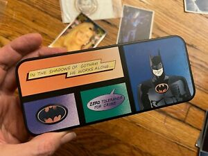 1980's Batman Comic Collectible Metal Pencil Case
