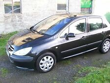 PEUGEOT 307 S 1.6 2005 REG 5 DOOR BREAKING SPARES PARTS WHEEL WING FOR SALE