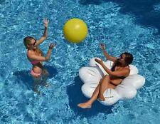 Daisy Ball & Ring Set Giant Pool Float Raft Game Swimline 90548 Beach Inflatable
