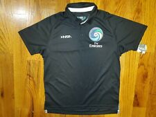 Nwt New York Cosmos x Fly Emirates Inaria Soccer Black Jersey Youth Xl