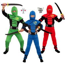NEU! Ninja Kostüm Kinder Kind Jungen Ninjakostüme Junge Fasching Karneval Jungs