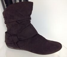 Report Womens Brown Ankle Boots 8.5