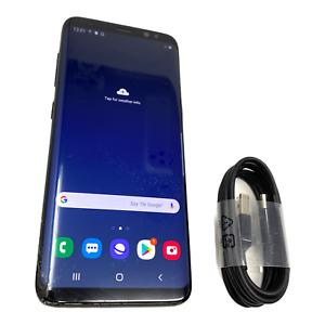 Samsung Galaxy S8 SM-G950W - 64GB - Midnight Black (Unlocked) Smartphone #1788