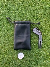 Titleist Design Divot Tool BLACK Golf Marker & Travel Bag Accessories
