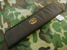 "RANDALL KNIFE KNIVES 19"" ZIPPER CASE w/GOLD EMBROIDERY RMK LOGO  #A1614"