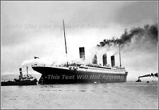 Photo Premium: Titanic's Sea Trials & Final Moments In Belfast, April 2, 1912