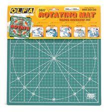OLFA 360 Degree Self Healing Rotating Mat 30cm x 30cm