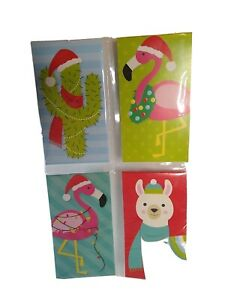 Christmas mini Tablets  4 in packager  20 Sheets each  New