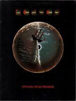 KANSAS 1978 POINT OF KNOW RETURN TOUR CONCERT PROGRAM BOOK BOOKLET / EXCELLENT