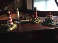 Lighthouses - 4 American Heritage - Plus 5 other collectibles