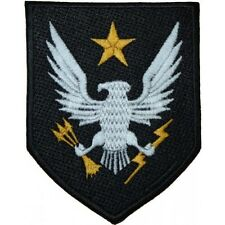 """Halo 4"""" Logo Sew Ironed On Badge Embroidery Applique Patch"""