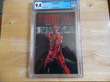 SECRET WARS #5 - CGC 9.4 DAREDEVIL RED FOIL!