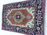 HANDMADE  PERSIAN SERAPI RUG  2X3 #1707