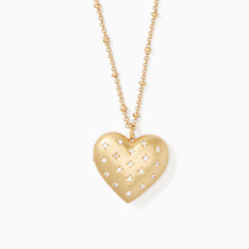 KATE SPADE My Precious Heart Locket Pendant Necklace