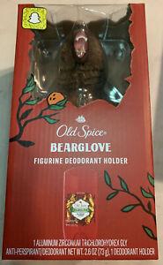 Old Spice Bearglove Deodorant Holder Figurine 2.6 Oz Deodorant - SHIPS FREE New