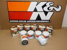 SIX K&N HP-1007 Wrench-Off OIL FILTERS fits CHEVY GMC TRUCK/VAN CAMARO, FIREBIRD