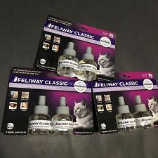 New listing New 6 Feliway Classic Feline Cat Refill Calming Pheromone