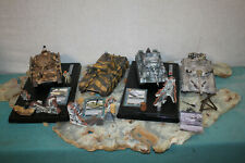 4X Forces Of Valor 1:32 Iraqi T-72 Tank03 Russian T34/85, Panzer lV,Jagdpanther