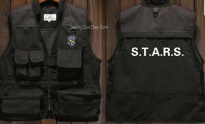 Resident Evil STARS Biohazard Cosplay Costume Jacket Vest Sleeveless Unisex Cool
