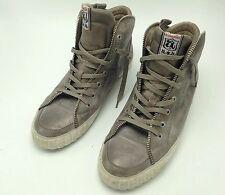 """Limited Ash """"Shake"""" Metallic Men's Fashion Sneakers Zipper detail Size 45 / 12"""