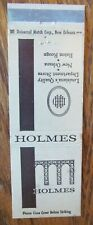DEPARTMENT STORE: HOLMES (NEW ORLEANS & BATON ROUGE LOUISIANA) -F23