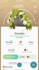 Shiny Groudon Mini Account Pokémon Go