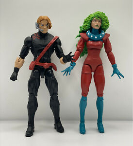 Marvel Legends Polaris Havok Custom Age of Apocalypse