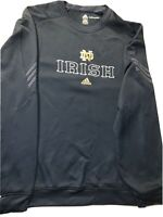 Notre Dame Fighting Irish Adidas Clima Warm Pullover Men's Size 4xl Shirt