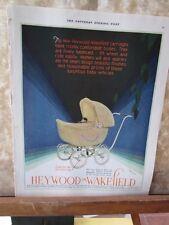 Vintage Print,HEYWOOD WAKEFIELD WICKER,March 1930,Saturday Evening Post