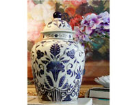 A100Hand Crafted Solid Cloisonne Ceramic Keepsake Cremation Memorial Funeral Urn