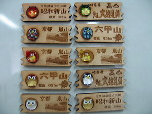Cute Magnets with Japanese Name Engraving Service (3pcs/set)