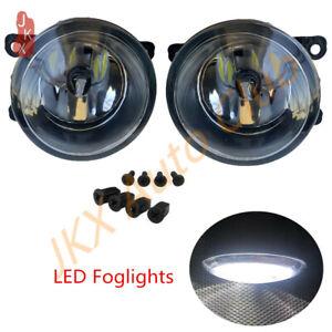2P LED Bumper Lamps Fog Lights Upgrade For Subaru Impreza XV Crosstrek 2012-2015