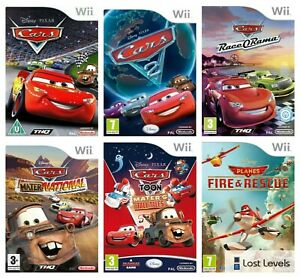 Wii - Disney Cars   Planes   Race O Rama   2   Choose Your Game Multi-Listing