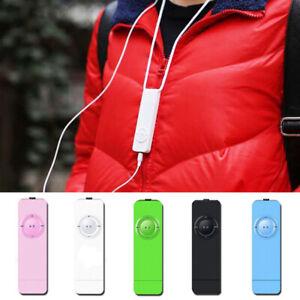 1PC Fashion USB Mini MP3 Player LCD Screen Support  Micro SD TF Card