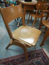 Casala Schulstuhl Klappstuhl Vintage Mid Century Schreibtisch Stuhl Holz 50/60er
