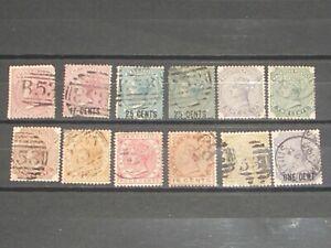 Queen Victoria Mauritius stamps