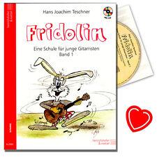 Fridolin 1 - Gitarrenschule für Kinder - Heinrichshofen - N2500 - 9783938202036