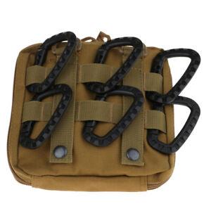 Heavy Duty Kunststoff Karabinerhaken Schlüsselbund Outdoor Rucksack