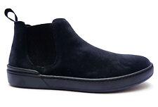 """Scarpe uomo Frau 20D2 scarpe casual da uomo modello """"beatles"""" in camoscio Blu"""