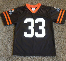 CLEVELAND BROWNS  NFL  # 33 TRENT RICHARDSON FOOTBALL JERSEY BY NFL YOUTH LARGE