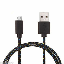 STORNG BRAIDED MICRO USB CABLE DATA CABLE FOR SAMSUNG LG SONY HTC NOKIA