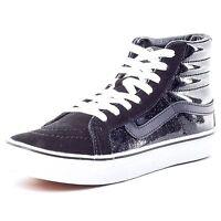 New Vans Sk8-hi Slim, Unisex Adults' Hi-Top Sneakers Black Patent sizes 3 - 7 UK
