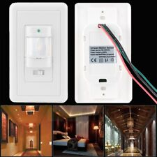 Auto On/Off Infrared PIR Occupancy Vacancy Motion Sensor Wall Light Lamp Switch