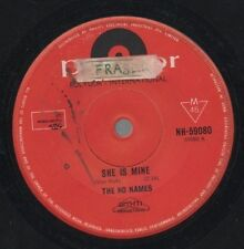 """THE NO NAMES   THROB  Rare 1964 Oz Only 7"""" OOP Garage Beat Single """"She Is Mine"""""""