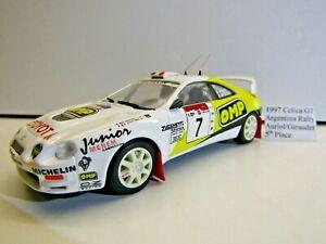 Trofeu 1:43 Scale Die-cast 1997 Toyota Celica Argentina Rally Auriol / Giraudet
