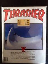 Brian Brannon JFA Cover Love Bowl AZ April 1987 Thrasher  Skateboard Magazine