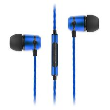 New SOUNDMAGIC E50C In-Ear Headphones Earphones Earbuds with Mic & Remote (BLUE)