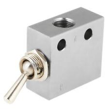Mechanisches Ventil HL2301 3 Position 2 Port Kippschalter Ventil Pneumatik NEU