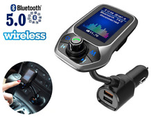 TRASMETTITORE FM BLUETOOTH 5.0 WIRELESS T43 AUTO VIVAVOCE LETTORE MP3 USB CHARGE
