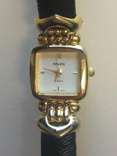 Working Ladies Gold Gruen Watch  AW